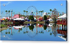 Acrylic Print featuring the photograph Florida State Fair 2017 by David Lee Thompson