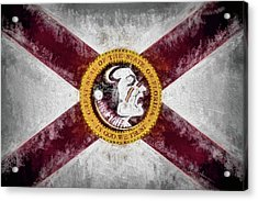Florida State Flag Acrylic Print by JC Findley