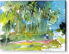 Florida Trip No.13 Acrylic Print by Sumiyo Toribe