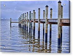 Floridian Pier  Acrylic Print