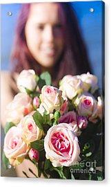 Florist Acrylic Print