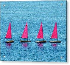 Flotilla Acrylic Print by John Bradburn