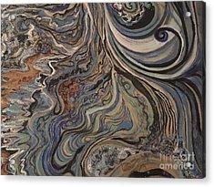 Flow Acrylic Print