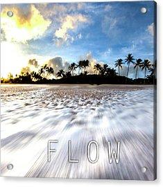 Flow. Acrylic Print