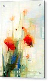 Flower 9230 Acrylic Print