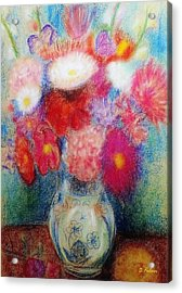 Flower Arrangement Acrylic Print
