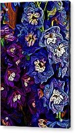 Flower Arrangement II Acrylic Print by David Lane