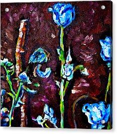 Flower Culture 197 Acrylic Print by Laura Heggestad