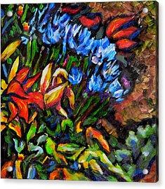 Flower Culture 222 Acrylic Print by Laura Heggestad