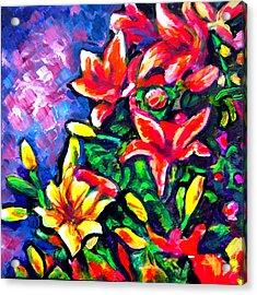 Flower Culture 297 Acrylic Print by Laura Heggestad
