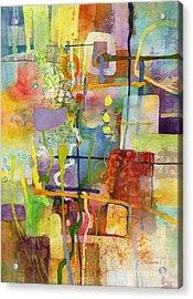 Flower Dance Acrylic Print by Hailey E Herrera