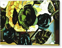 Flower Deco Acrylic Print