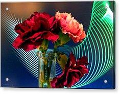 Flower Decor Acrylic Print