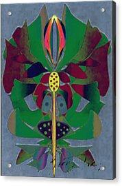 Flower Design Acrylic Print