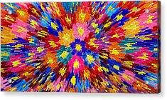 Flower Explosion Acrylic Print by LeeAnn McLaneGoetz McLaneGoetzStudioLLCcom