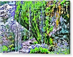 Flower Falls Acrylic Print