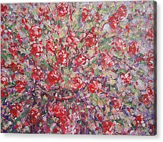 Flower Feelings. Acrylic Print
