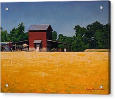 Flower Field 2 Acrylic Print by Doug Strickland