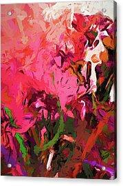 Flower Flames Soul Pink Acrylic Print
