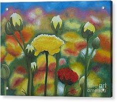 Flower Focus Acrylic Print