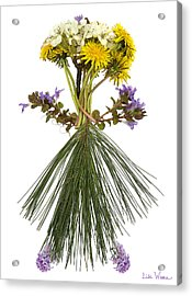 Flower Head Acrylic Print