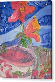 Flower Acrylic Print by Joseph  Arico