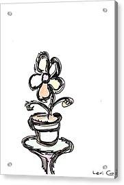 Flower  Acrylic Print by Levi Glassrock