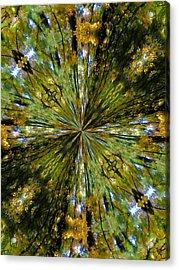 Flower Mandala 20 Acrylic Print