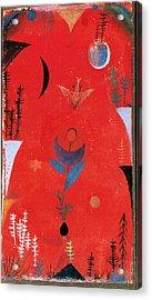 Flower Myth Acrylic Print by Paul Klee