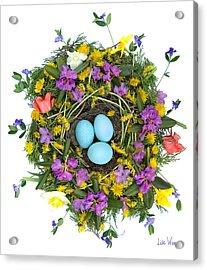 Flower Nest Acrylic Print