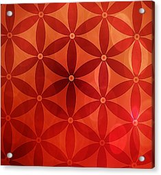 Flower Of Life  Acrylic Print by Serena King