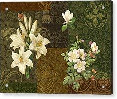 Flower Patchwork 2 Acrylic Print