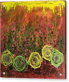 Flower Pops Acrylic Print