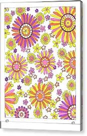 Flower Power 1 Acrylic Print
