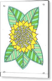 Flower Power 6 Acrylic Print