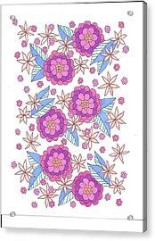 Flower Power 9 Acrylic Print