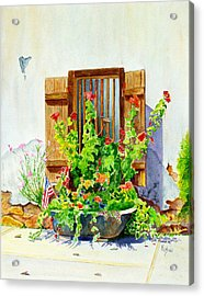 Flower Tub Acrylic Print