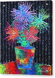 Flower-works Plant Acrylic Print
