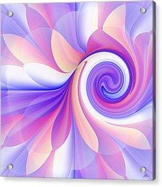 Flowering Pastel Acrylic Print