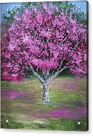 Flowering Tree Acrylic Print