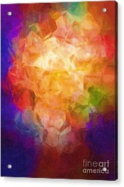 Flowerpot Acrylic Print by Lutz Baar