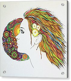 Flowerpower2 Acrylic Print