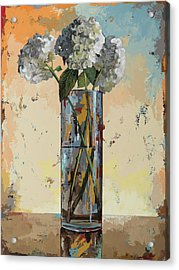 Flowers #16 Acrylic Print by David Palmer