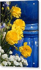 Flowers 187 Acrylic Print by Joyce StJames