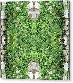 Flowers And Stones I Acrylic Print