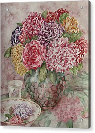 Flowers Arrangement  Acrylic Print