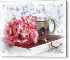 Flowers At Work Acrylic Print