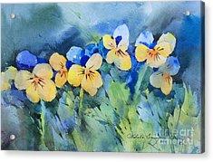 Flower's Beauty Acrylic Print by Natalia Eremeyeva Duarte