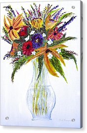 Flowers For An Occasion Acrylic Print