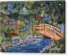 Flowers In My Garden Acrylic Print